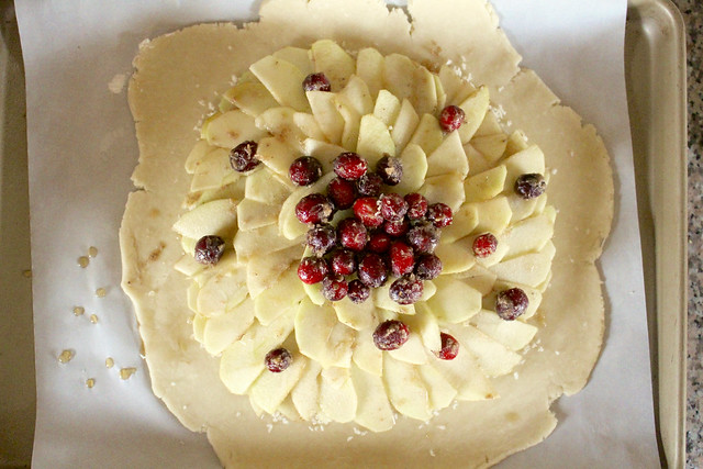 Apple Cranberry Galette - 15