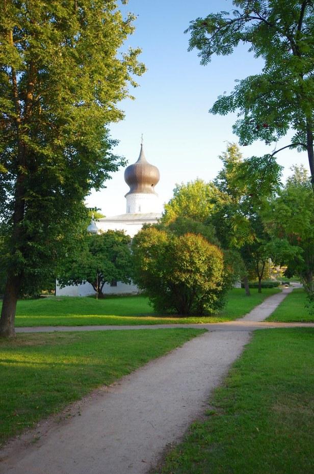 Псков, Россия, Успенская церковь