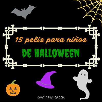 15 películas de Halloween para niños