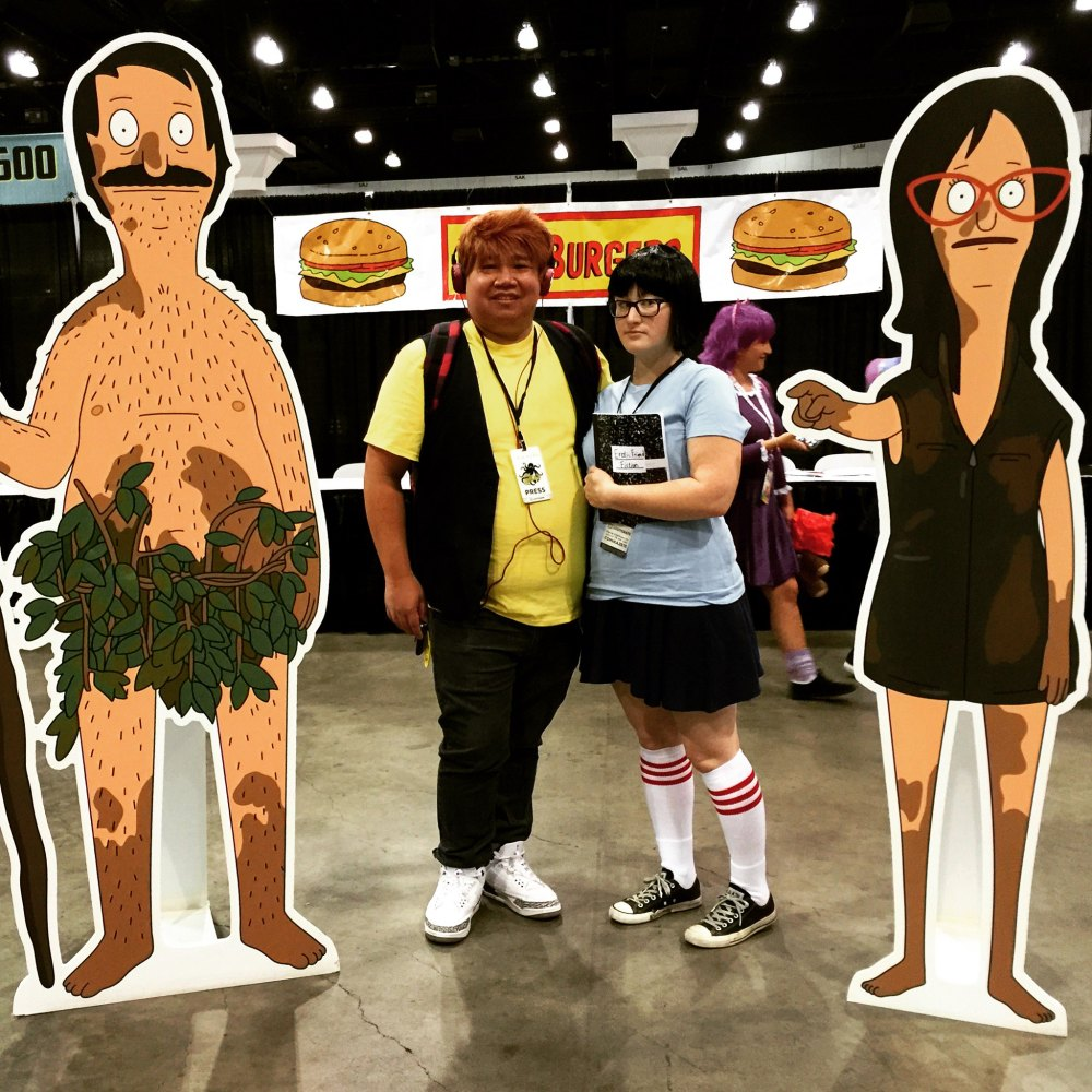 The Nerd Lys as Tina and Jimmy Jr. from Bob's Burgers