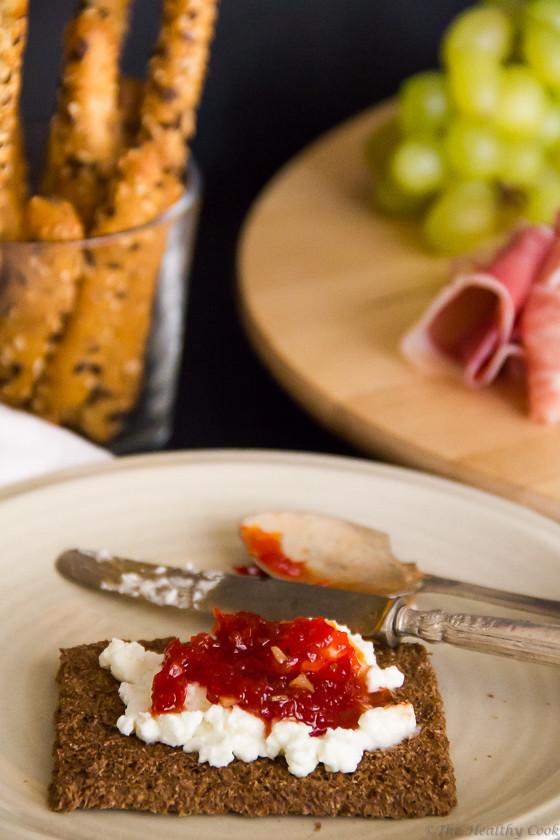 Sweet Chilli & Tomato Jam – Μαρμελάδα Καυτερής Πιπεριάς & Τομάτας