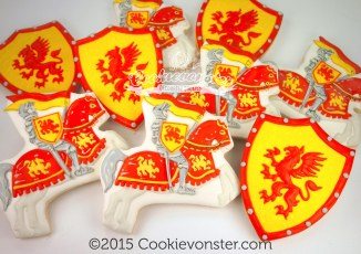 Knight Chevalier cookies