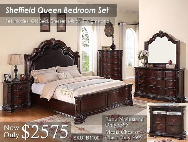 Sheffield Queen Bed Set