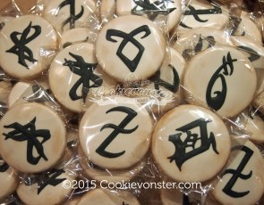ShadowHunters Rune cookies ➰