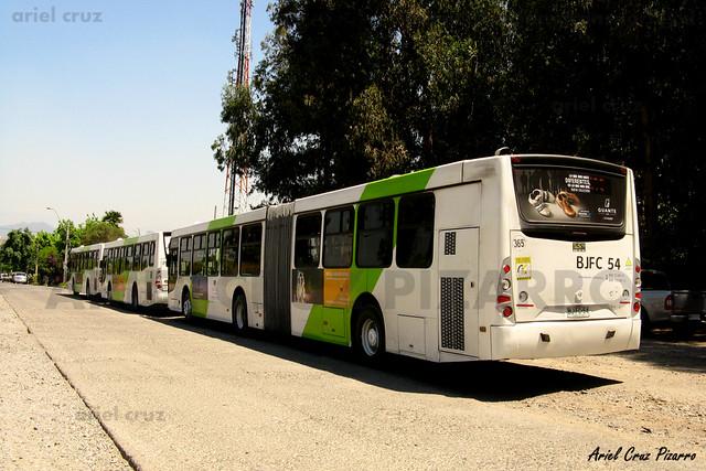 Transantiago - Metbus - Caio Mondego HA / Mercedes Benz (BJFC54)