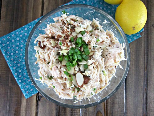 Lemon Almond Chicken Salad 2