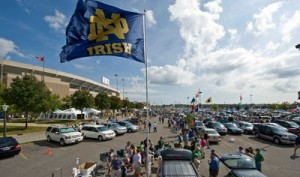 Notre Dame tailgate 2015
