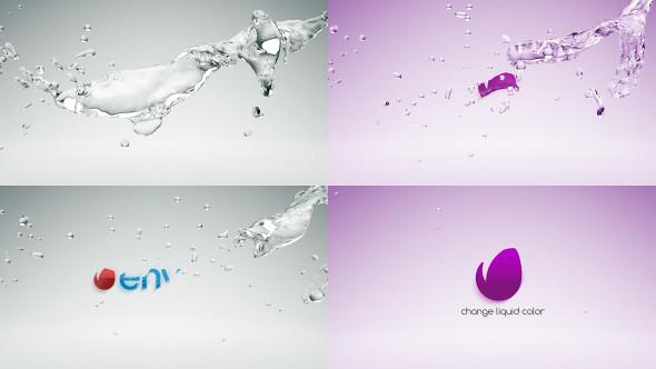 Organic Liquid Splash Logo - 41