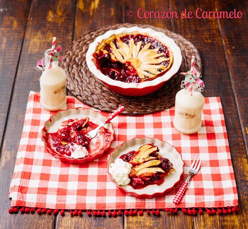 Tarta de Moras y Frambuesas