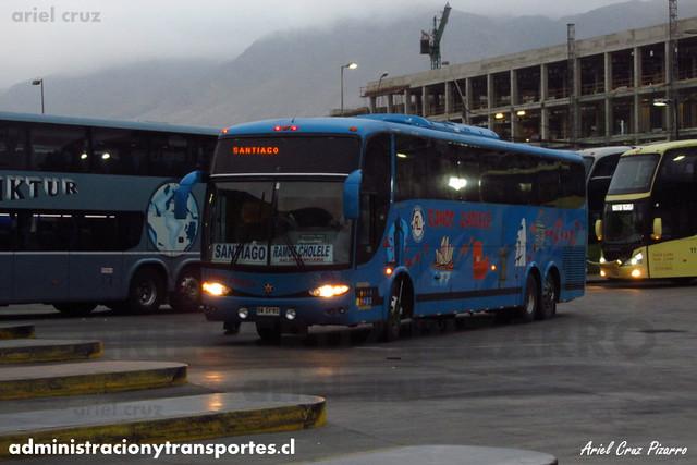 Ramos Cholele - Antofagasta - Marcopolo Paradiso 1200 / Mercedes Benz (BWSV82)