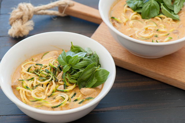 One Pot Dinner Recipe Zucchini Laksa-2