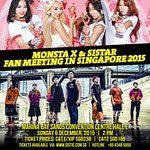 SISTAR MONSTA X Fanmeet in SG