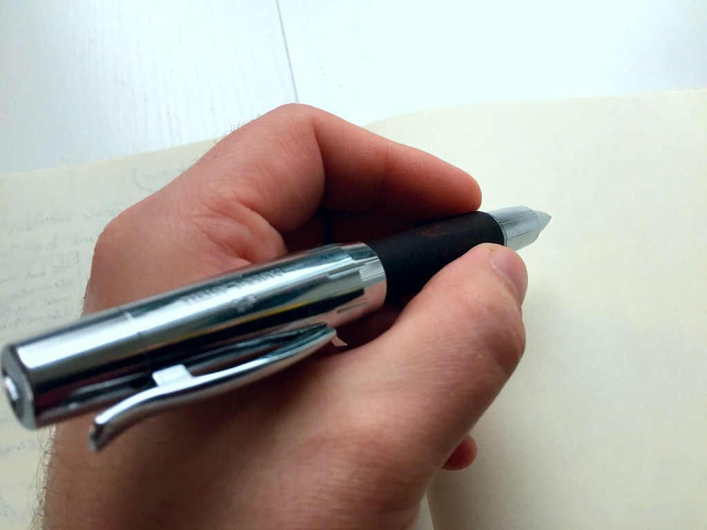 Faber-Castell E-motion rollerball pen (dark brown pear-wood)