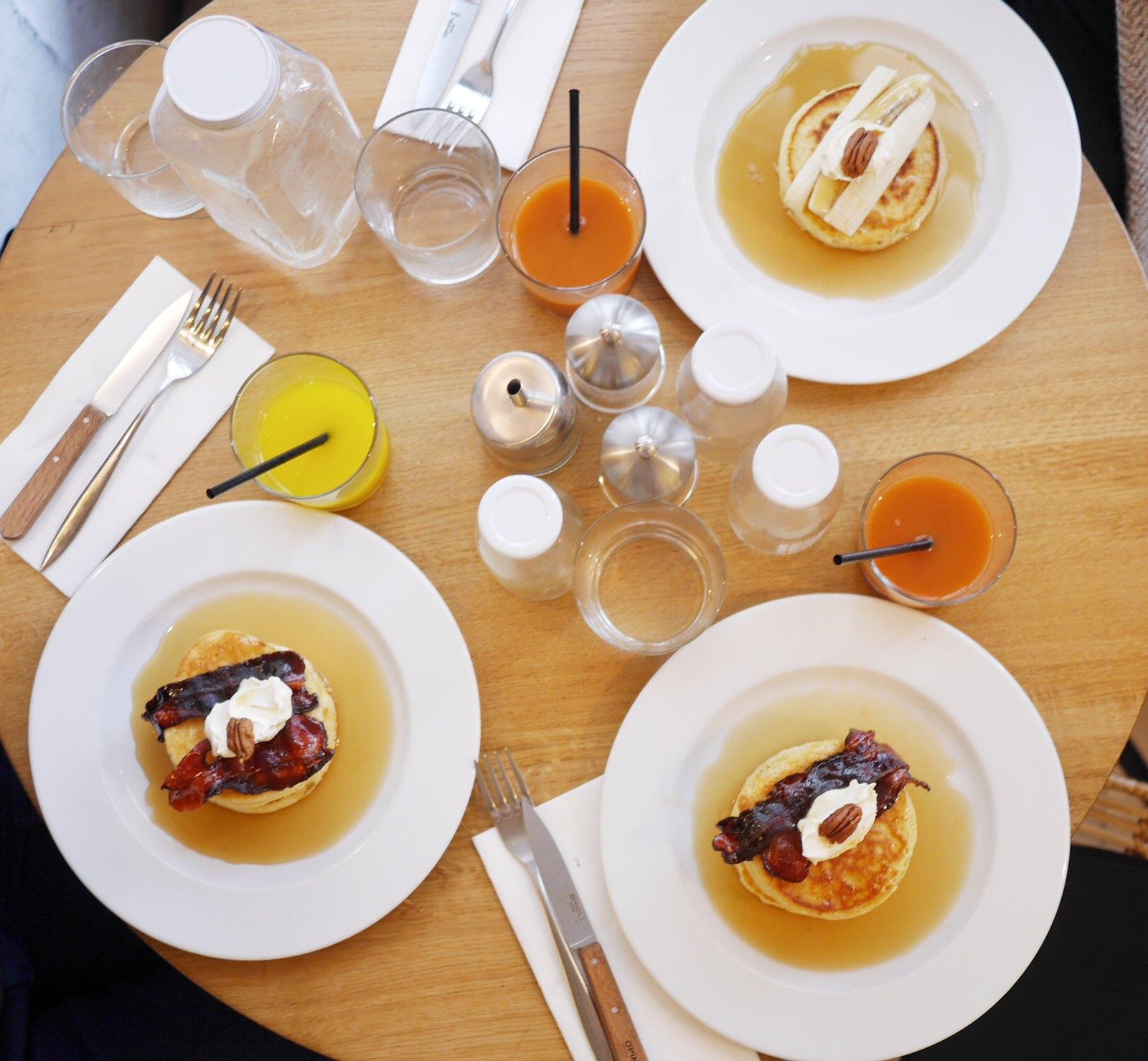 #breakfastinParis, Breakfast at Season in Marais. #dempancakes