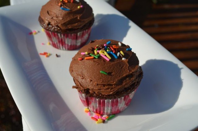 ChocolateNutellaCupcakes