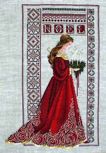 Celtic Christmas Cross Stitch