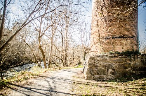 Glendale Mill Ruins-027