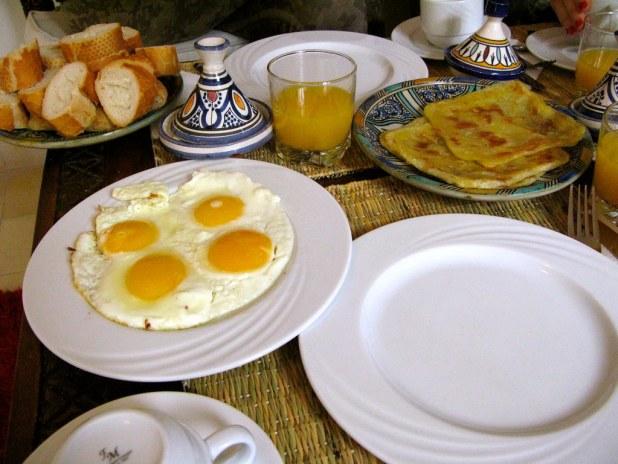 Comiendo En Marrakech (desayuno, Almuerzo Y Cena