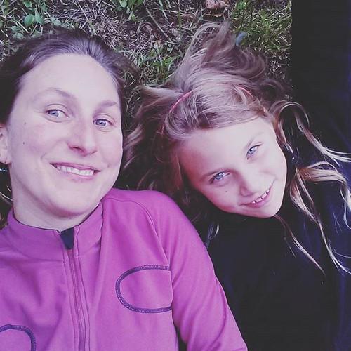 Met de dochter ... Wij doen van start2run als de zoon gaat voetballen #liv #start2run #iloverunning #instarunners