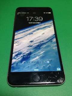 4_iPhone6Plusのフロントパネルガラス割れ