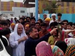 Welcome Sain Sadhram Sahib at Pooj Raherki Sahib (12)