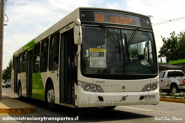 Transantiago - Buses Gran Santiago - Caio Mondego L / Volvo (CCPX41)