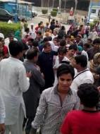 Welcome Sain Sadhram Sahib at Pooj Raherki Sahib (3)