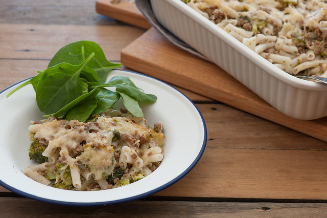 Beef & Broccoli Pasta Bake