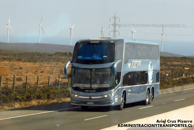 Ciktur - Norte Chico - Marcopolo Paradiso 1800 DD / Volvo (FFFZ42)
