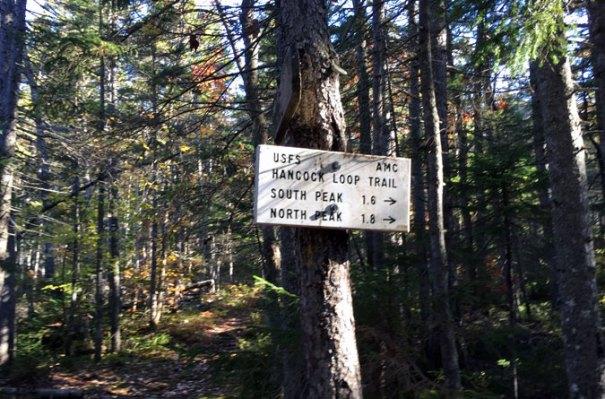 Hancock Loop Trail Sign 2