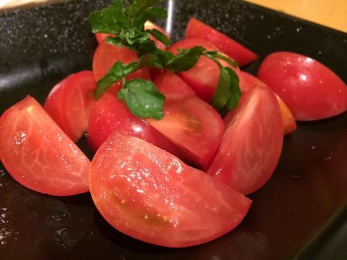 箸休めのトマト@鳥長