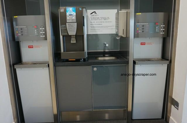 香港空港 水飲み場