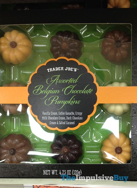 Trader Joe's Assorted Belgian Chocolate Pumpkins
