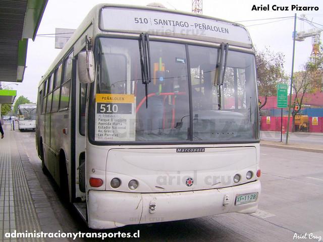 Transantiago - Buses Metropolitana / Metbus - Marcopolo Torino G6 / Mercedes Benz (XF1126)