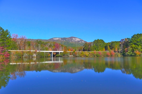 Table Rock with Fall Leaves-003