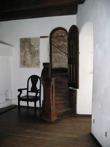 Bran Castle Secret Passage And Original Brickwork