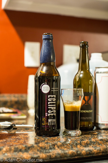 FiftyFifty Imperial Eclipse Stout - Evan Williams 23 Year Barrel
