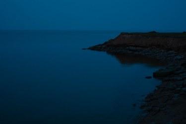 PEI Coastline Silhouette