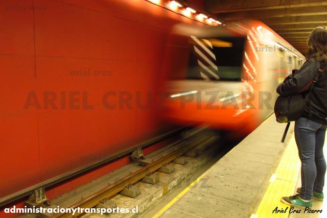 Metro de Santiago - Alstom AS2002 - Vicuña Mackenna (L4)