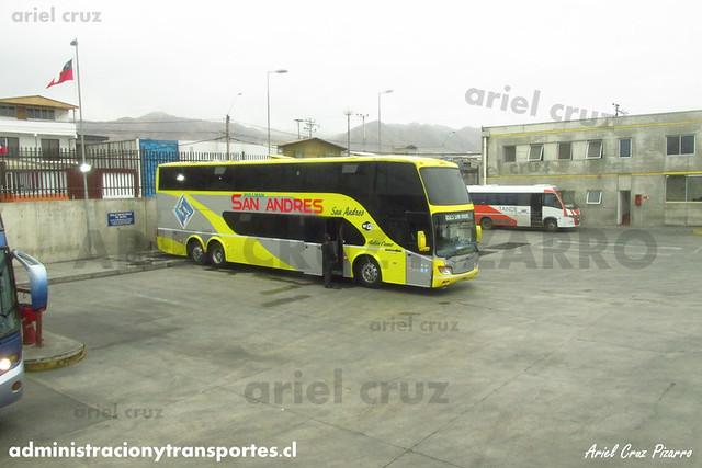 Buses San Andrés - Antofagasta - Modasa Zeus / Scania (DLFJ47)