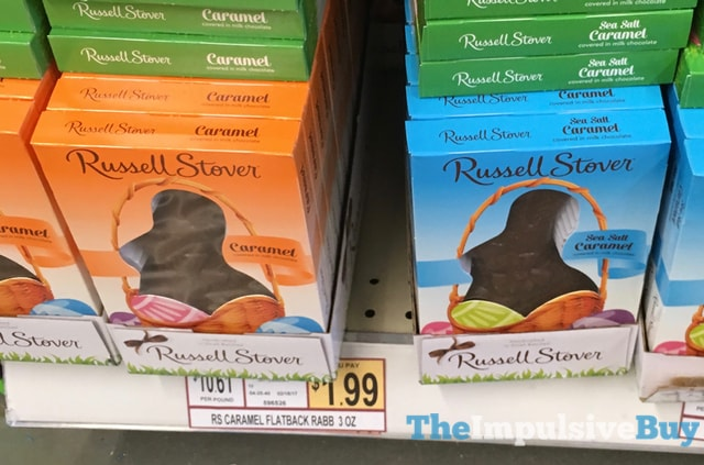 Russell Stover Caramel and Sea Salt Caramel Rabbits