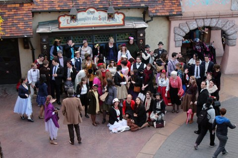 organising the Dapper Day group shot
