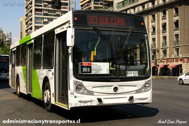 Transantiago - Buses Vule - Caio Mondego H / Mercedes Benz (BJFS13) (22)