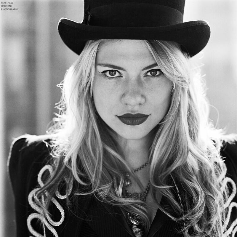 Hasselblad Film Portrait