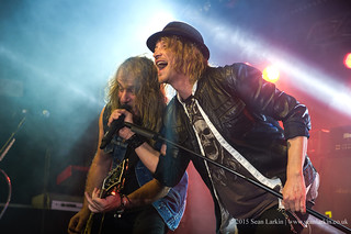 Gotthard at Rockingham, 24 October 2015