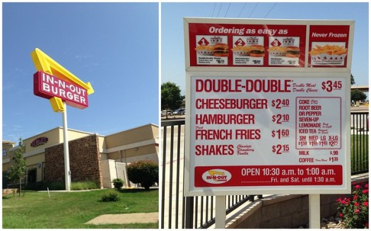 In & Out Burger, Dallas TX