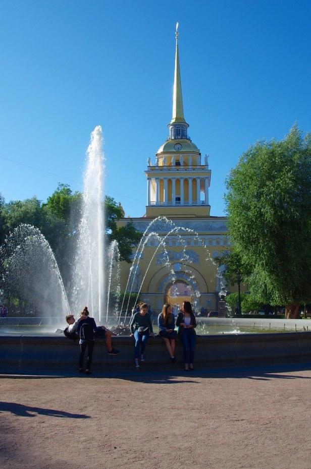 Адмиралтейство, Санкт-Петербург, Россия