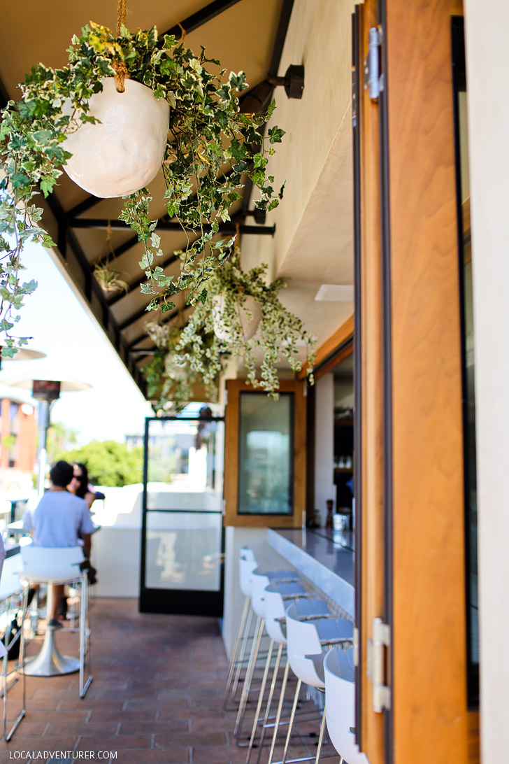 Catania La Jolla Restaurant.