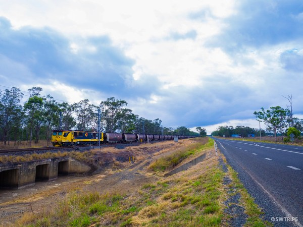 Coal Train, Queensland