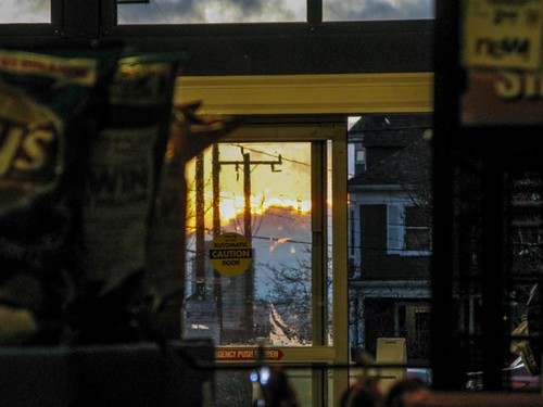 Grocery Store Sunset